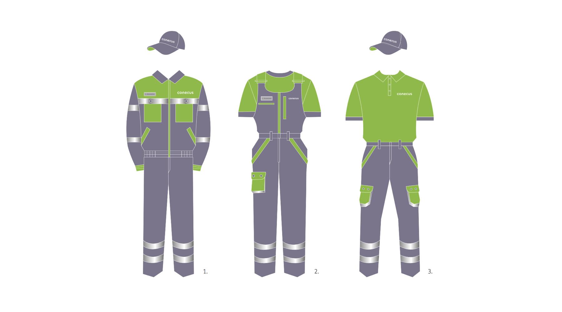 Conexus Baltic Grid Brand Identity Design