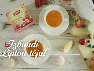 Lipton Moments 2016 summer Baltic campaign by VUCA