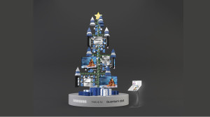 SAMSUNG XMAS TREE INSATLATION BY VUCA.001
