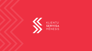 klinetu servisa redesign by vuca